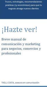 Manual de comunicación y marketing para negocios, comercios y profesionales
